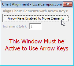 Chart Alignment Arrow Keys Toggle On 1.1