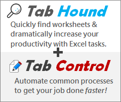 Tab Hound and Tab Control Add-ins