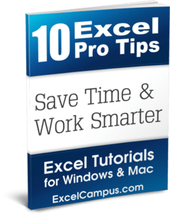 10 Excel Pro Tips eBook