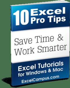 10 Excel Pro Tips eBook