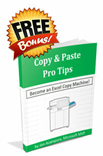 Copy & Paste Pro Tips eBook - Free Bonus - Jon Acampora