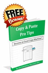 Copy & Paste Pro Tips eBook - Free Bonus - Jon Acampora