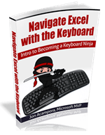 Navigate Excel with the Keyboard eBook