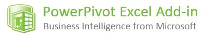 PowerPivot Excel Add-in Logo