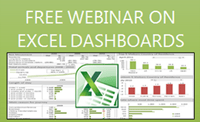 Free Webinar on Excel Dashboards