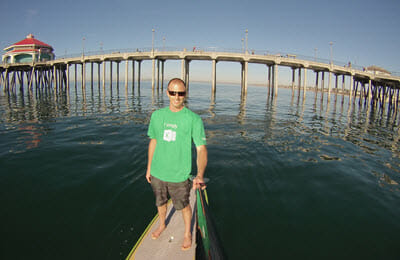 Jon in Excel Shirt GoPro