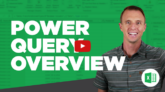 Power Query Overview YouTube Video