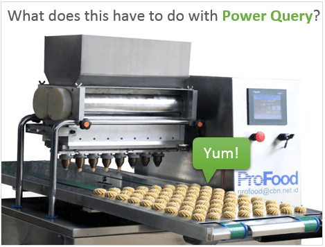 Power Query Cookie Machine