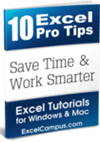 Excel Pro Tips eBook Cover 100x150