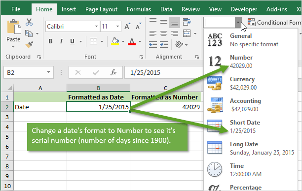 How Dates Work in Excel - The Calendar System Explained +