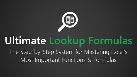 Ulitmate Lookup Formulas Logo