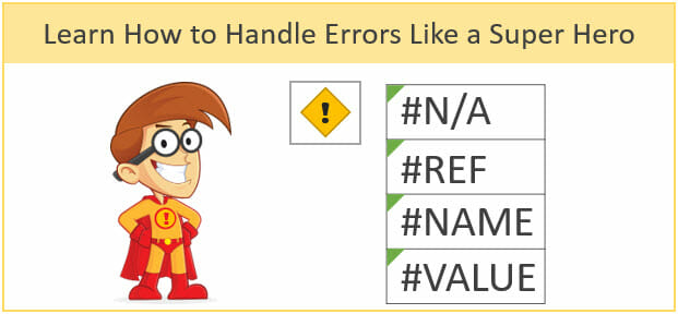 Handle Formula Errors Like a Super Hero