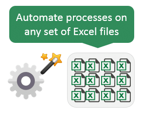 File Manager Automate Processes on Excel Files