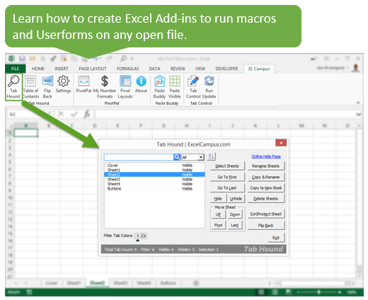 Learn How to Create Add-ins