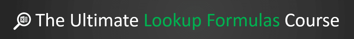 The Ultimate Lookup Formulas Course Banner 1166x129