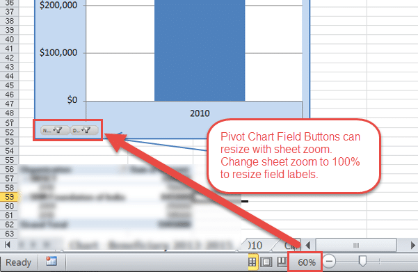 Pivot chart field button not displaying all words or text excel campus pivot chart field button resizes with sheet zoom ccuart Choice Image