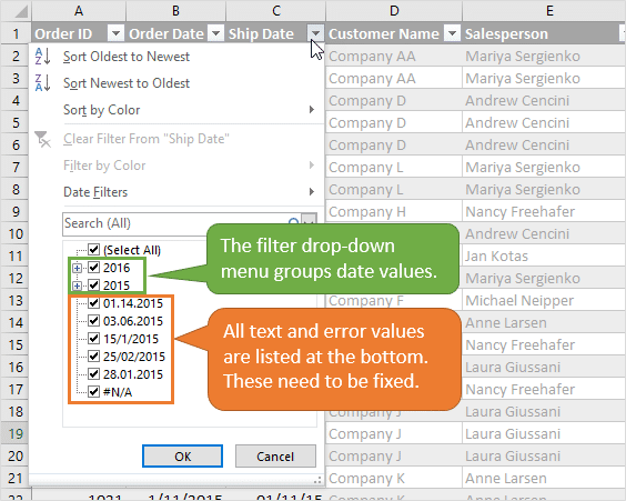 text-and-error-values-are-listed-below-date-groups-in-the-filter-drop-down-menu