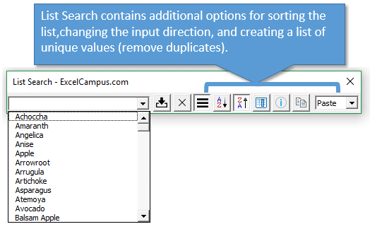 list-search-add-in-options-sort-and-direction-settings