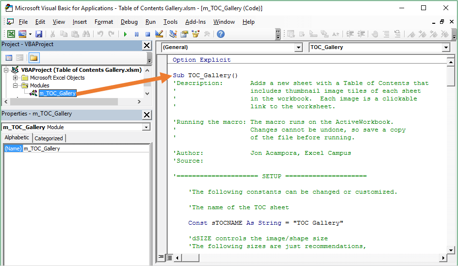 the-table-of-contents-macro-vba-screenshot-of-vb-editor