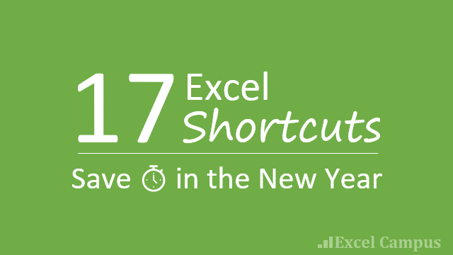 17 Excel Shortcuts Save Time Post Thumb