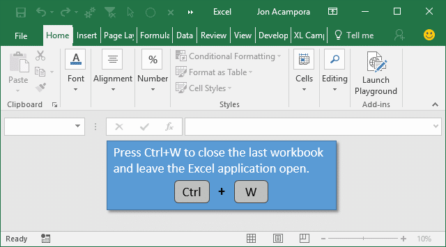 3 Tips to Save and Close All Open Excel Workbook Files + VBA