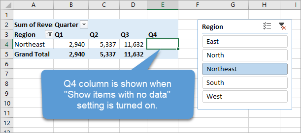 How to Stop Pivot Table Columns from Resizing on Change or Refresh
