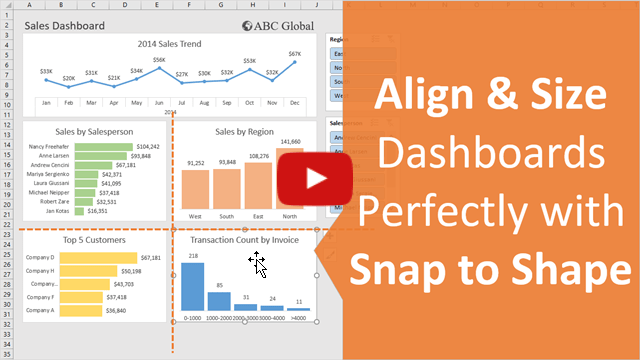Align Size Dashboards Snap to Shape Video Thumb 640
