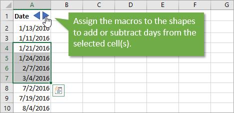 Add subtract dates in Australia