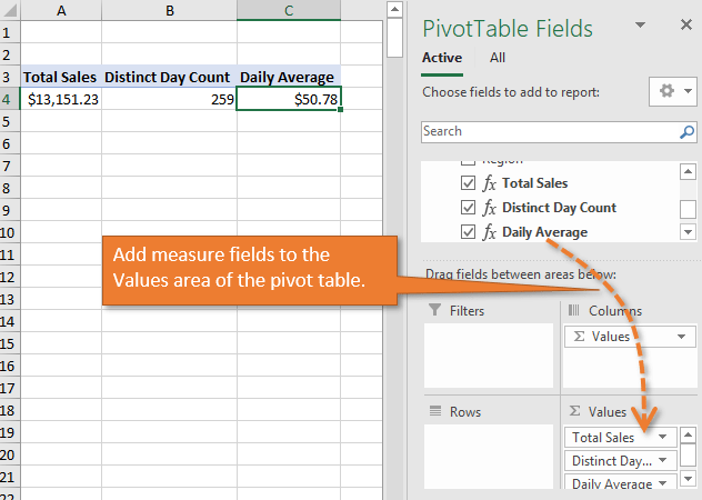 How to Calculate Daily Averages with a Pivot Table - Excel Campus