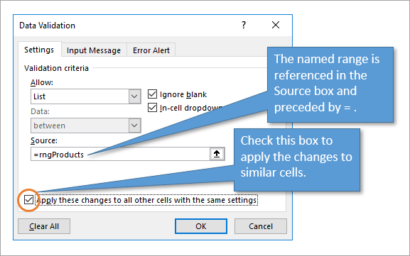 How to Add New Rows to Drop-down Lists Automatically - Dynamic Data