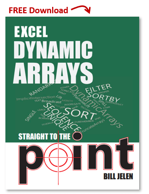 Excel Dynamic Arrays eBook by Bill Jelen Free Download