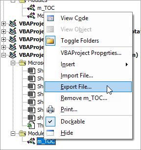 Export a Module..