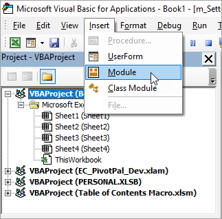 How to Copy or Import VBA Code to Another Workbook - Excel