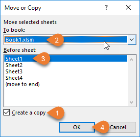 Move or Copy Window