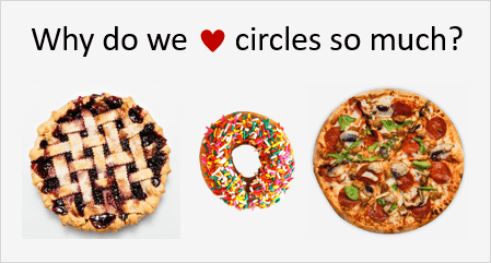 Why Do We Love Circles So Much