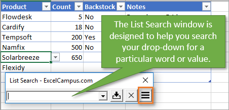 How to Sort Drop Down Lists Automatically in Excel - Excel Campus