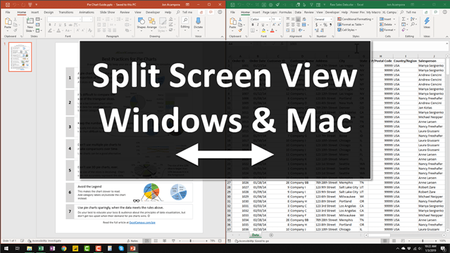 Split Screen View Video Thumb 640