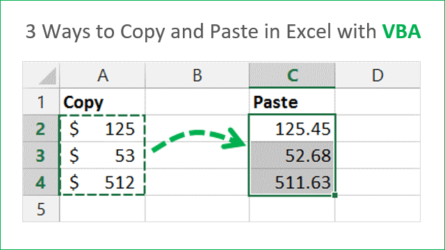 3 Ways to Copy and Paste in Excel with VBA Macros 640