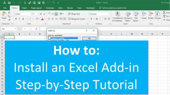 How to Install Excel Add-in Step by Step Youtube Thumb 640