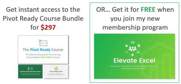 Pivot Ready Bundle or Elevate Program