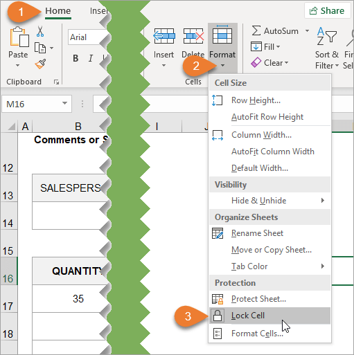 How to Lock Cells for Editing and Protect Formulas - Excel
