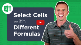 Select Cells with Differences