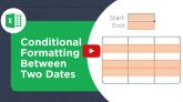 Conditional Format Based on Two Dates