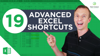 19 Advanced Excel Shortcuts