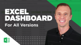 Attendance Report Dashboard for All Versions of Excel