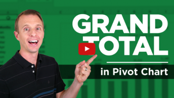Grand Total in Pivot Chart