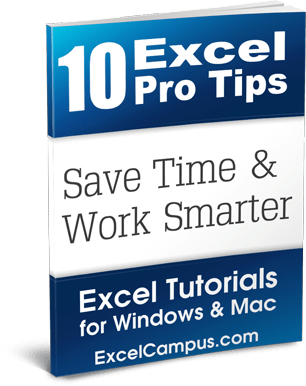 Excel Pro Tips eBook by Jon Acampora - Excel Campus