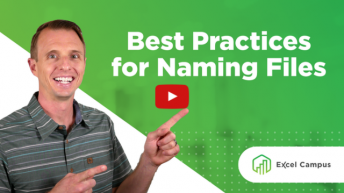 Best Practices for Naming Files