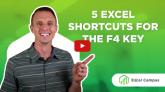 F4 Keyboard Shortcuts