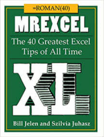 The 40 Greatest Excel Tips of All Time Book